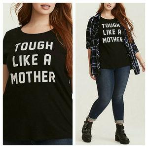 Torrid T Shirt Tough Like a Mother Sz 0X